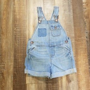 3T girls overall shorts